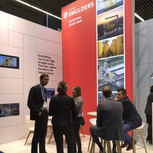 Modulaire Standenbouw Frameworks Beursstand Smulders Group Eiffage Offshore Energy Frameworks Event Branding
