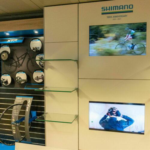 Shimano Showroom Videowallklein