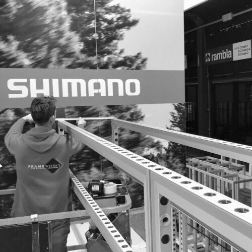 Team Shimano Opbouw