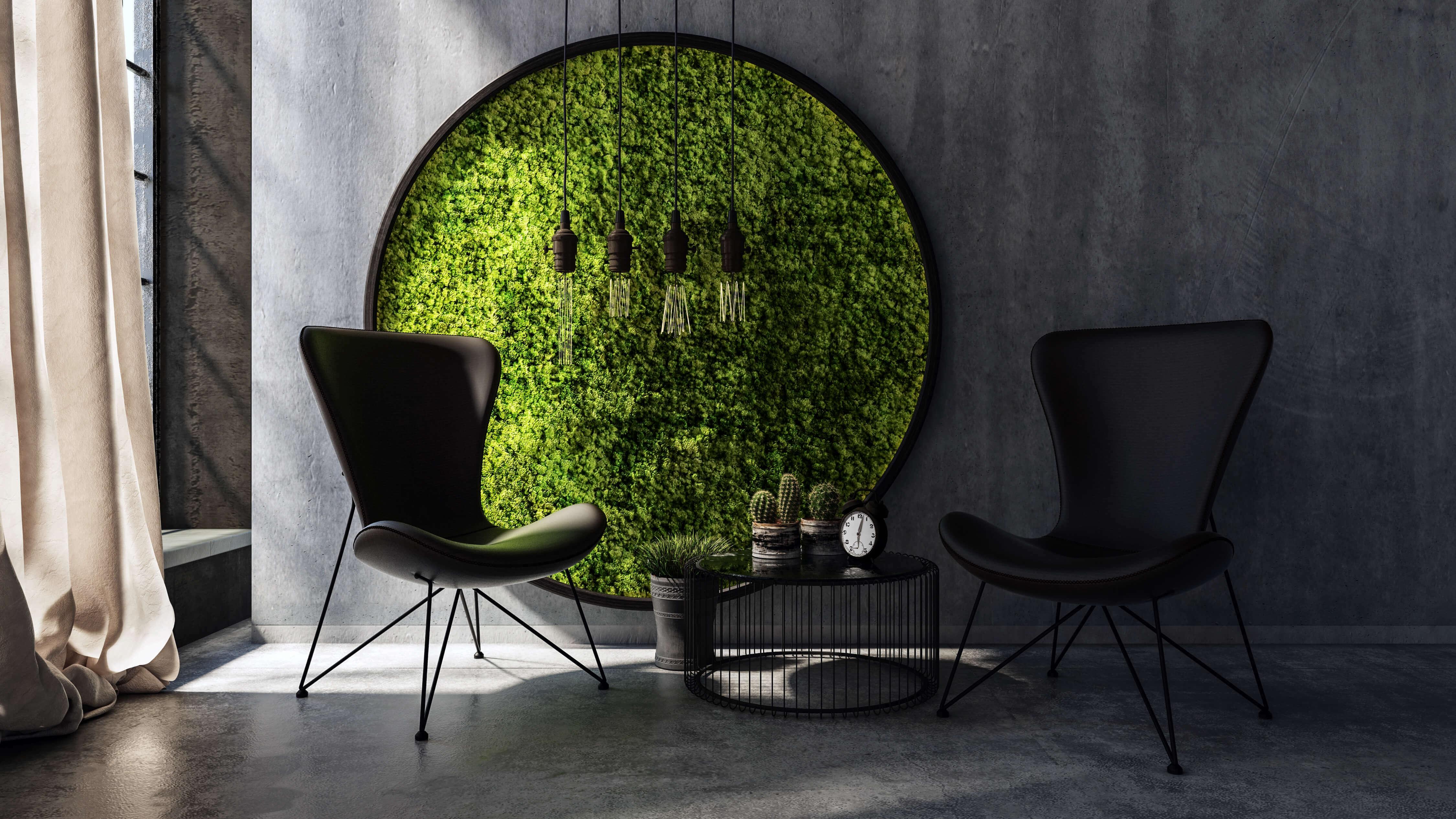 Diy Moss Wall Garden