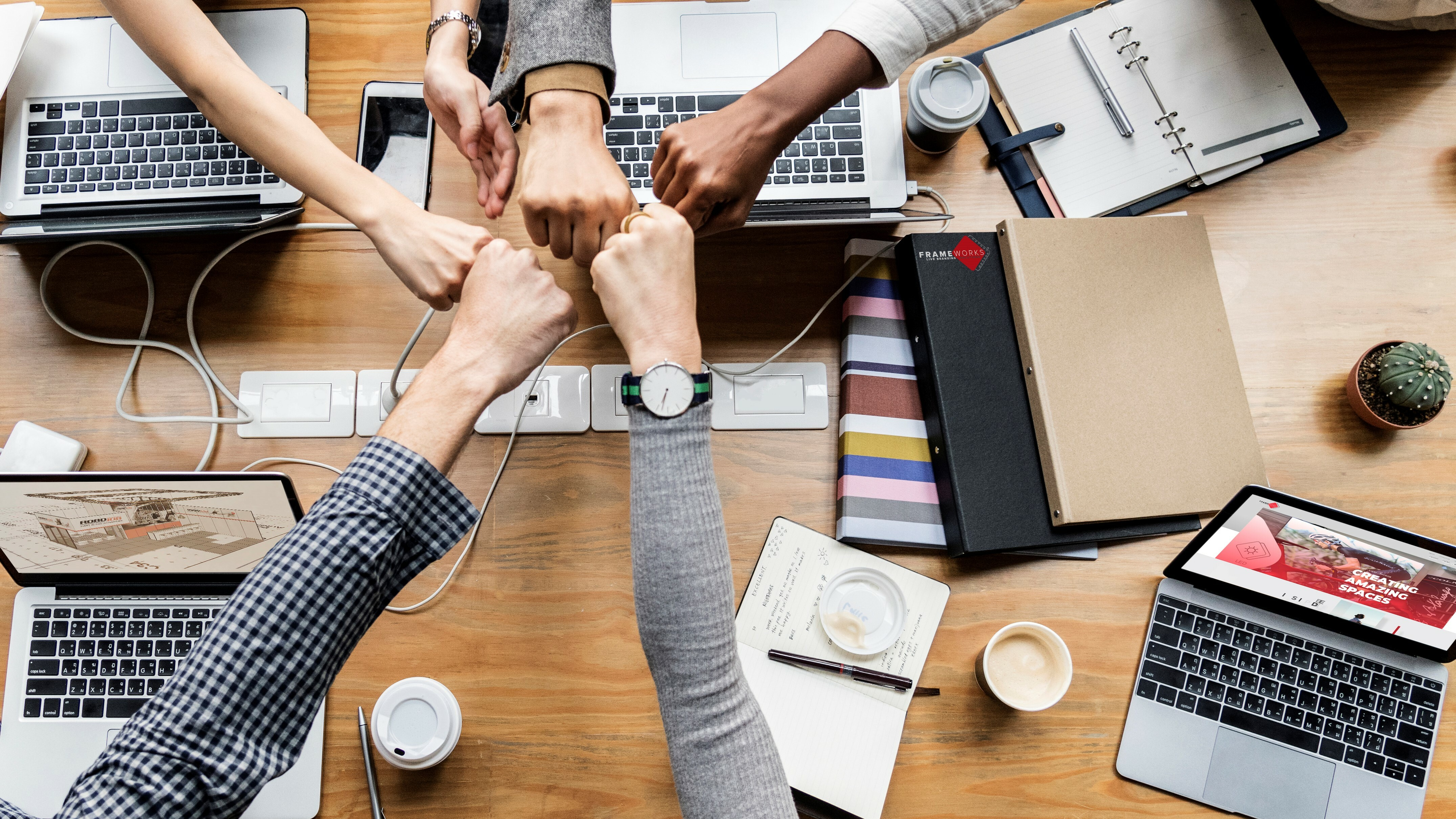 Teamwork Hands Frameworks Breedbeeld